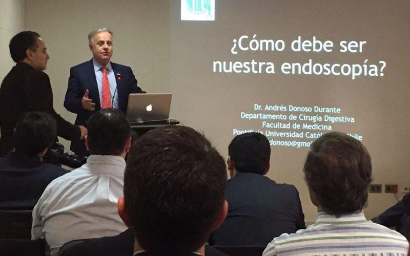 Ministro de salud respaldó tercer operativo de endoscopías en el sur de Chile