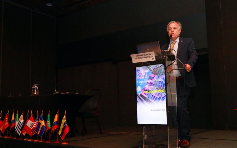 El Ministro de Salud, Doctor Emilio Santelices dio comienzo a la octava versión del Congreso de Infraestructura Hospitalaria, haciendo un llamado al cambio de paradigma en la atención de salud