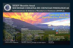 Sociedad Chilena de Ciencias Fisiológicas: XXXIV Reunión Anual