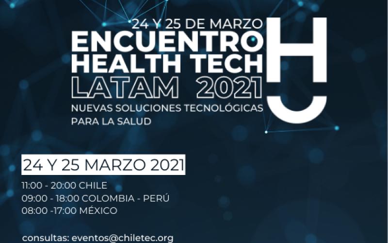 Expertos expondrán tecnologías de vanguardia en el encuentro internacional Health Tech Latam 2021