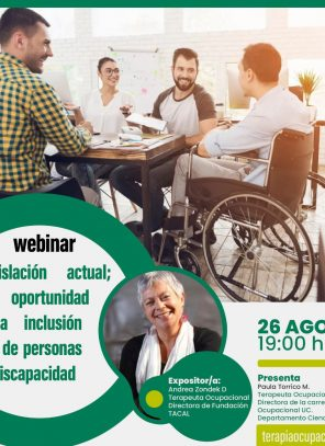"""""""Ley de Inclusión Laboral: Oportunidades con sentido"""": Hoy Webinar Gratuito"""